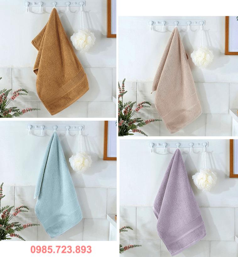 Lựa chọn sản phẩm khăn bông đẹp cotton 100%