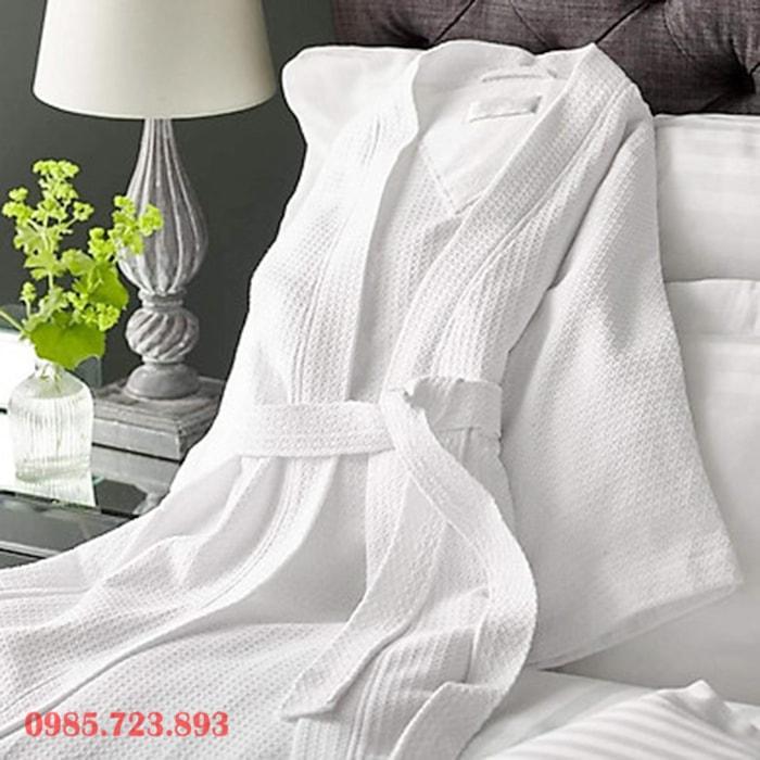 Áo choàng tắm tổ ong khách sạn cao cấp 5 sao
