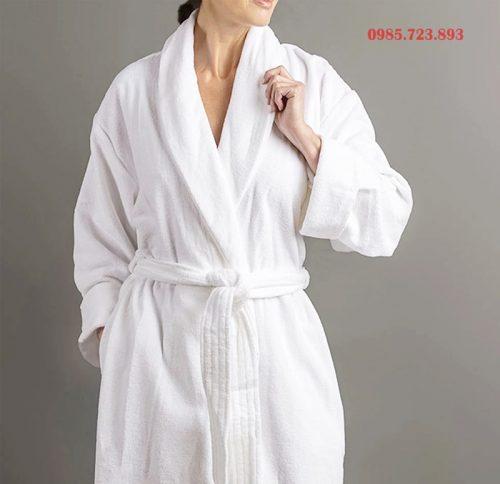 áo choàng tắm dành cho spa khách sạn